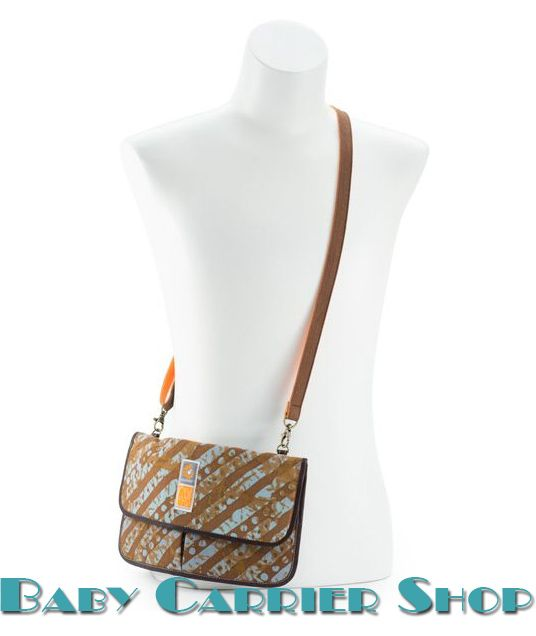 Сумка-клатч для мамы ERGO BABY «HIP & SHOULDER BAG Umba Print by Christy Turlington Organic Designer Collection» [Эрго Беби HB960CT96NL Умба с Узором от Кристи Тарлингтон]