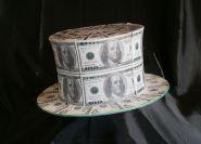 Долларовая шляпа шапокляк
