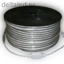 Светодиодная лента 220 вольт, герметичная, 60 SMD5050 диодов на метр, RGB