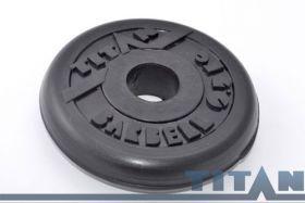 Диск обрезиненный Titan 0,5 кг