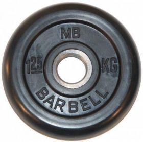 Диск обрезиненный MB Barbell 1,25 кг