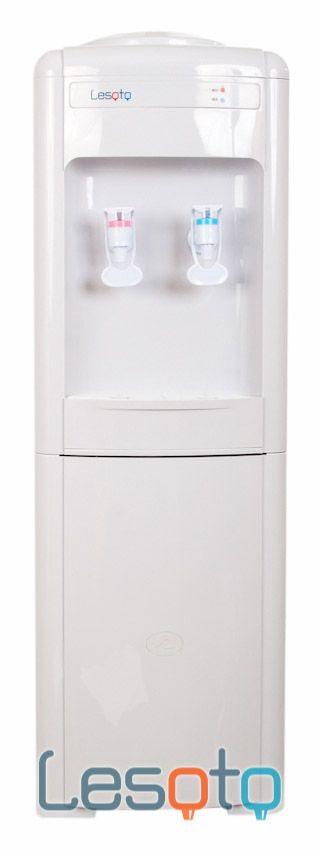 Кулер для воды Lesoto 16 LK без охлаждения, с нагревом, белый