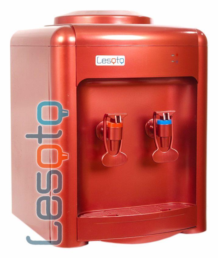 Кулер для воды Lesoto 36ТD c охлаждением. Красный цвет