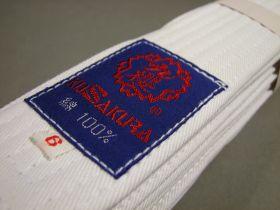 Белый пояс (White-obi)  из Японии (KUSAKURA) модель - JOWB