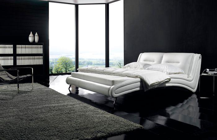 Кровать 959 (Белый цвет) NightCat | LineSleep
