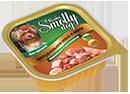 Зоогурман Smolly Dog Телятина с цыпленком д/щенков 100гр в ламистре