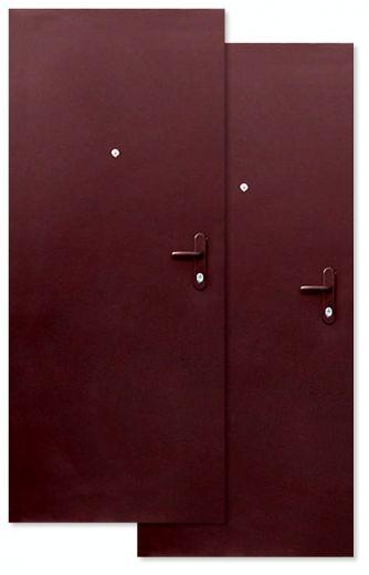 металлические двери технические