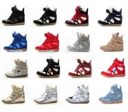 Кроссовки на платформе Isabel Marant