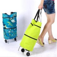 Компактная складная тележка-сумка