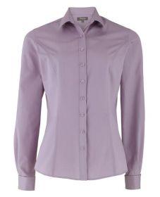 Женская рубашка сиреневая T.M.Lewin приталенная Fitted (45758)