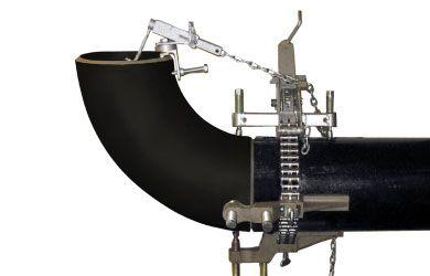 Цепной центратор с двумя упорными винтами «Double Jackscrew Chain Clamp»