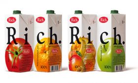 Сок RICH 1 литр на выбор.