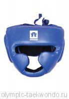 Шлем для бокса синий