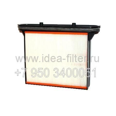 HMF100 (FKP 4300) HEPA фильтр для пылесоса BOSCH GAS 25, GAS 50 оригинальный - 1 штука