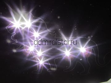 """Тканевый натяжной потолок Clipso с фотопечатью и системой """"Звездное небо"""" с кристаллами Swarovski"""