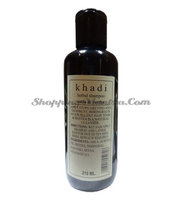 Оздоровительный шампунь Кхади Амла&Ритха / Khadi Herbal Amla&Reetha Shampoo