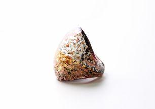 Кольцо Бамби муранское стекло