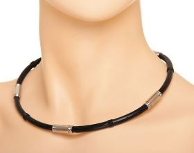 Комплект биомагнитных украшений браслет и ожерелье Хао Ган.