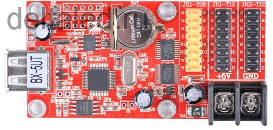 Контроллер двухрядный BX-5UT для одно и двухцветного табло