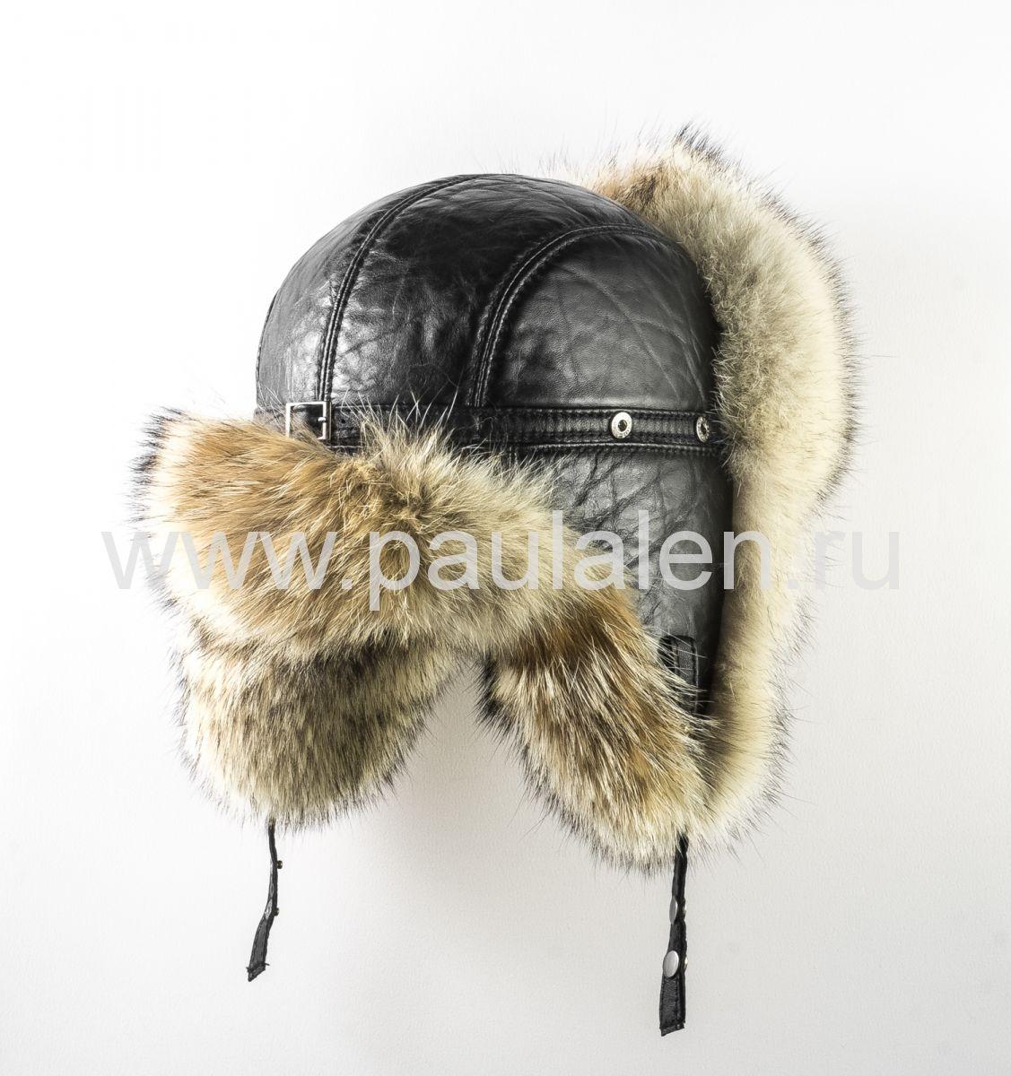 Мужская меховая шапка из волка, для настоящих мужчин