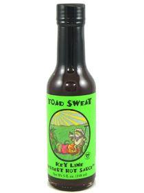 Острый соус Toad Sweat Key Lime and Habanero Dessert Sauce