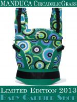 MANDUCA Baby CARRIER LIMITED EDITIONS COLLECTION CircadelicGrass