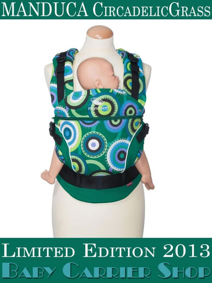 Слинг-рюкзак MANDUCA Baby And Child Carrier Эргорюкзак для переноски малышей «CircadelicGrass Limited Editions» [Мандука слингорюкзак Трава]