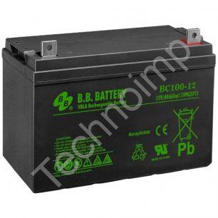 B.B. Battery BC 100-12 'Аккумуляторная батарея'