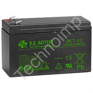 B.B. Battery BC 7-12 'Аккумуляторная батарея'