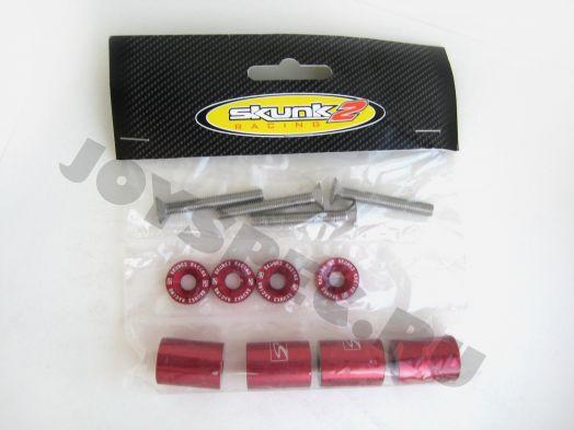 Проставки для поднятия капота Skunk2 Красные
