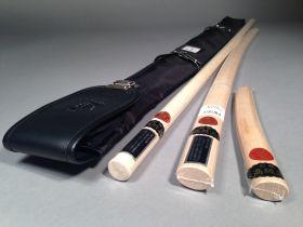 Комплект оружия (KUSAKURA): бокен, дзе, танто из Японии в чехле  (SEIDO)  - NYLON