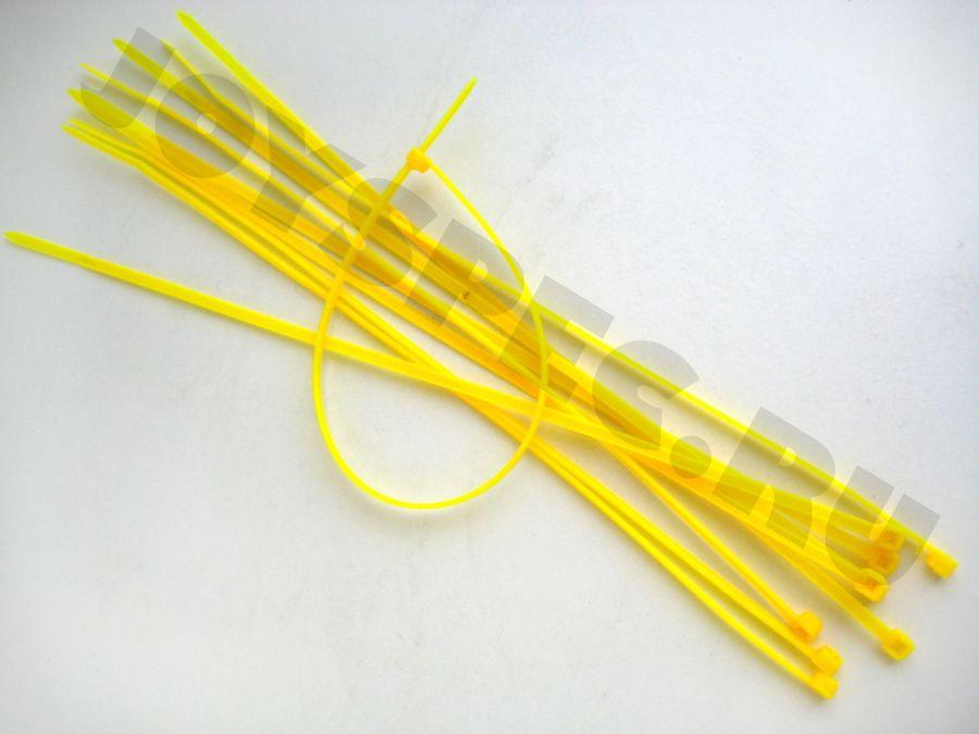 Хомуты желтые (10шт)