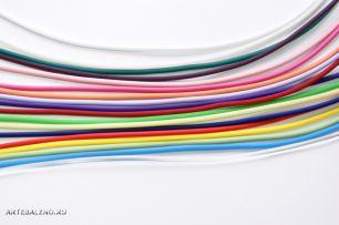 Шнурок каучуковый  цветной