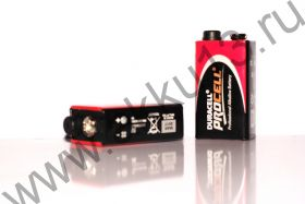 9V Duracell procell (MN1604, 6LR61, крона)