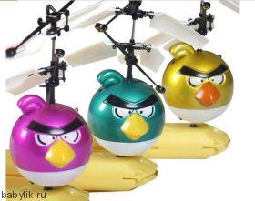 Flying flyer Angry Birds летающий на сенсорном управлении