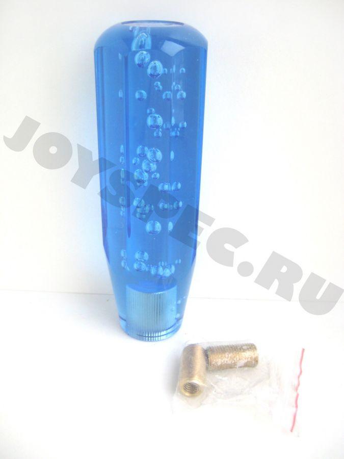 Ручка КПП с гранями, 150мм. Синяя