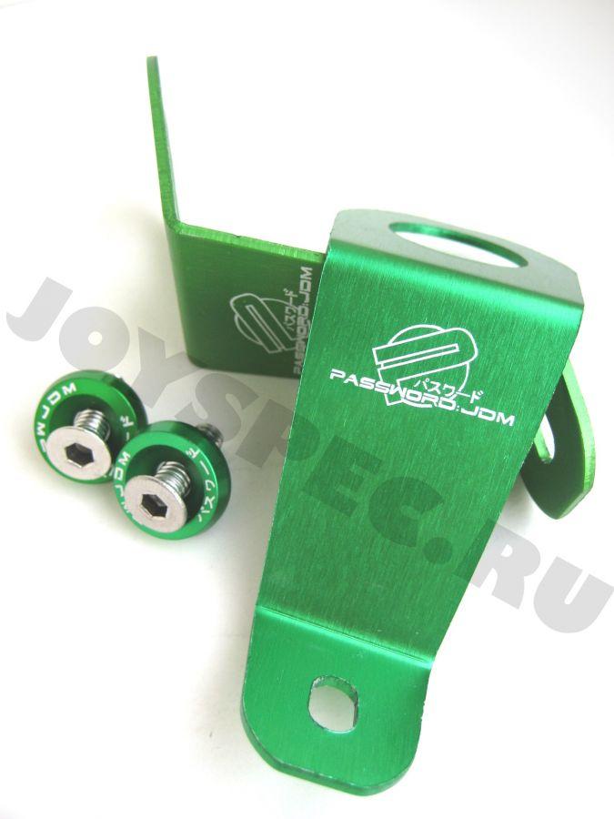 Крепления радиатора Password JDM Зелёные