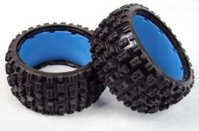 "HPI Baja 5B rear knobby ""MT TIRE"" tire set"