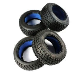 "HPI Baja 5T highway-road ""DESERT BUSTER"" tire set"
