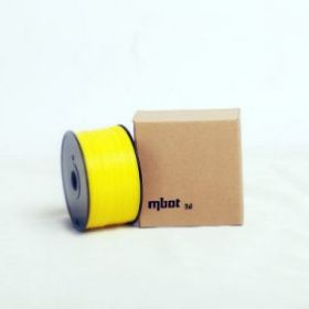 Катушка ABS-пластика Mbot 1.75 мм 1кг., желтая
