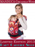 MANDUCA Baby CARRIER LIMITED EDITIONS COLLECTION CircadelicWine