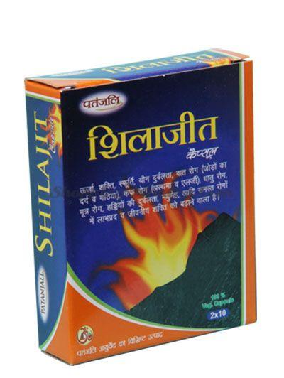 Мумие (Шиладжит) Патанджали для укрепления организма (Divya Patanjali Shilajeet Сapsule)