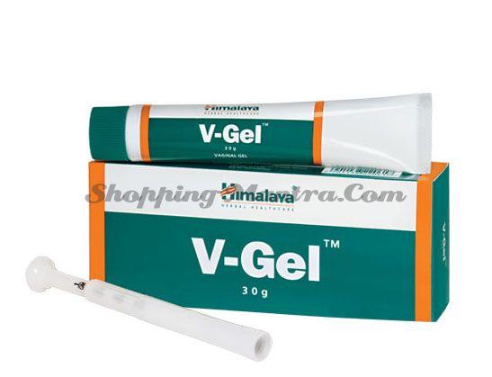 Вагинальный гель антибактериальный Хималая / Himalaya V-gel