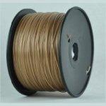 Катушка PLA-пластика Wanhao 1.75 мм 1кг., коричневая