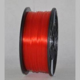 Катушка PLA-пластика Wanhao 1.75 мм 1кг.,прозрачно-красная