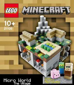21105 Лего Майнкрафт Деревня