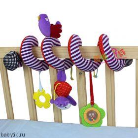 Подвеска-спираль на кроватку и коляску Mothercare