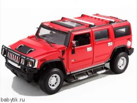 Р/у машина Hummer H2 (1:27) Rastar Красный