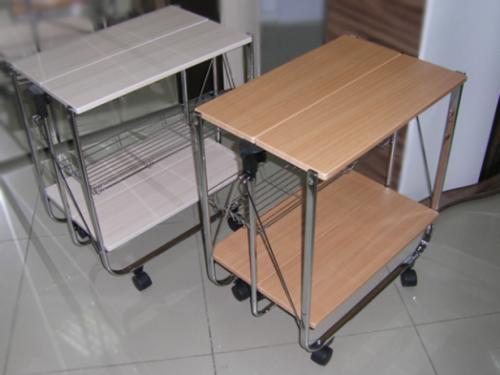 Складной сервировочный столик SA016 ольха