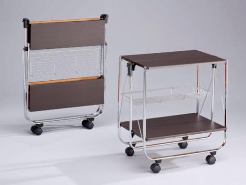 Складной сервировочный столик SA016 венге